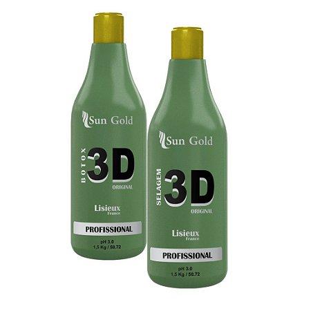 Kit Selagem 3D 1500g