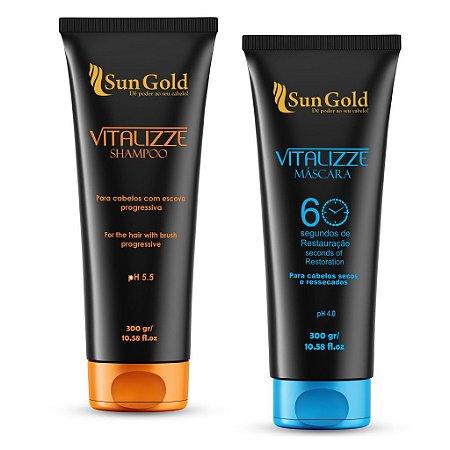 Kit Vitalizze Shampoo + Máscara 300g
