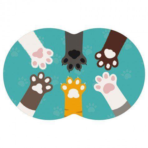 Tapete Pet Gato - Verde 54X39cm