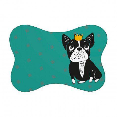 Tapete Pet Bulldog - Verde 46X33cm