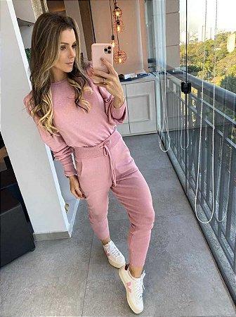 Conjunto Camila Rosa
