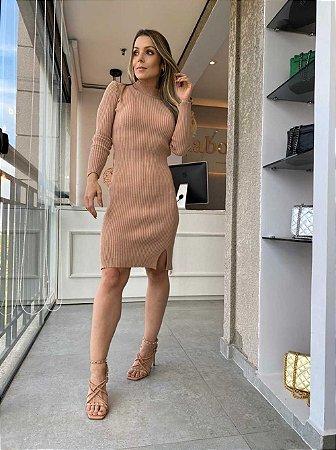 Vestido Noruega Nude