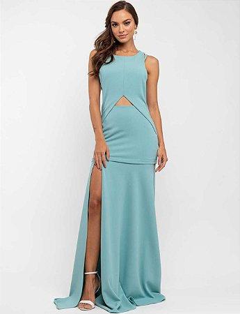 Vestido Longo Simone Verde