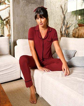 Pijama Chanel Marsala