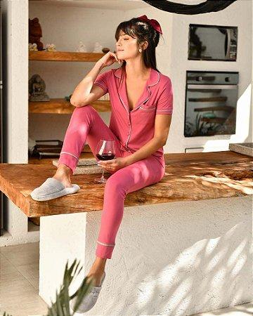 Pijama Chanel Rosa