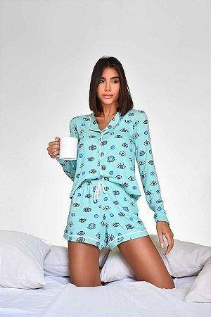 Pijama Stella Azul