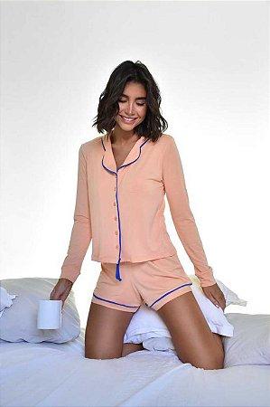 Pijama Marisa Laranja