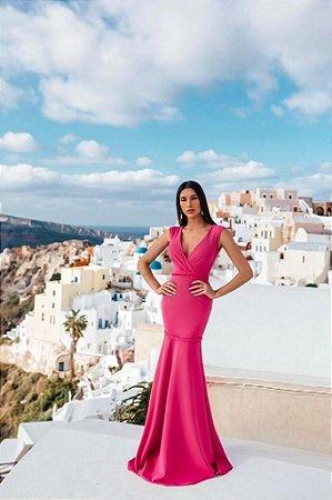Vestido Longo Mayla Pink