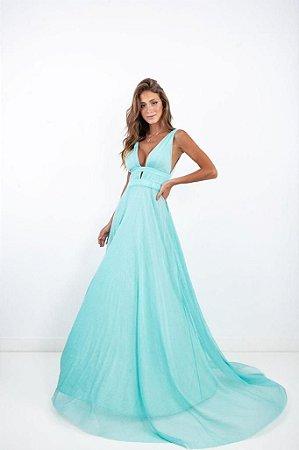 Vestido Longo Cecy Tiffany