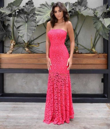 Vestido Longo TQ Pink