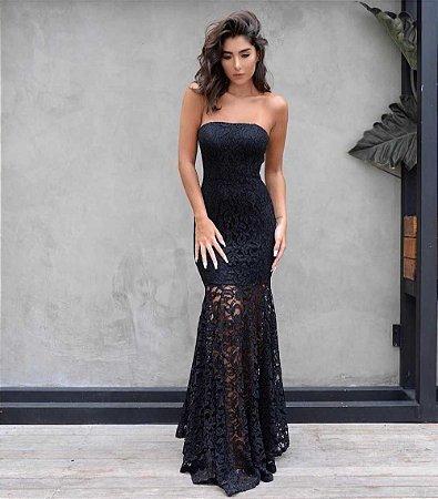 Vestido Longo TQ Preto