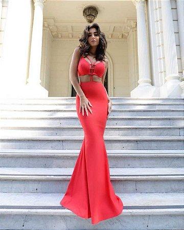 Vestido Longo Rafa Vermelho