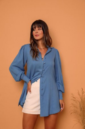 Camisa Maya Azul
