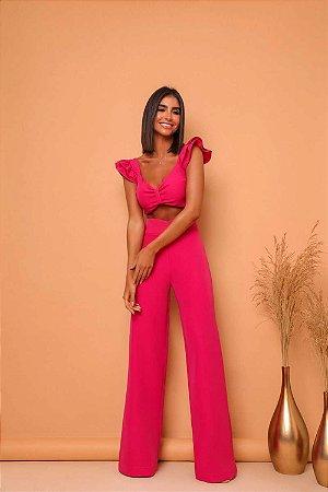 Conjunto Pantalona Anny Rosa