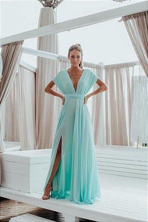 Vestido Longo Alana Tiffany