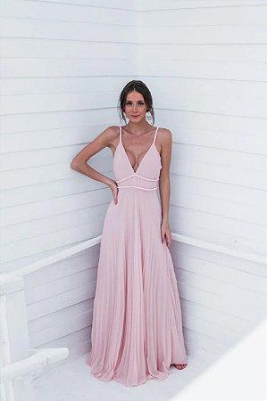 Vestido Longo Valetina Rose