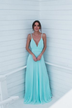 Vestido Longo Valentina Tiffany
