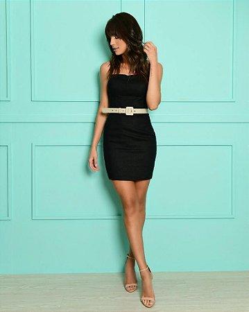 Vestido Milena Preto
