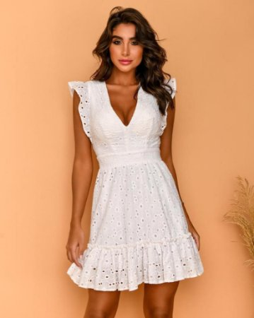 Vestido Louise Branco
