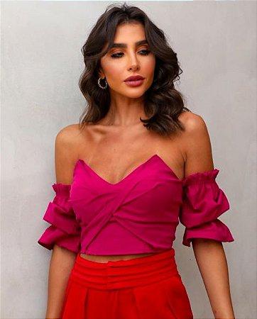 Cropped Renatta Rosa