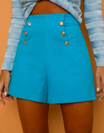 Shorts Aline Azul