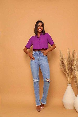 Calça Jeans Skinny Lia