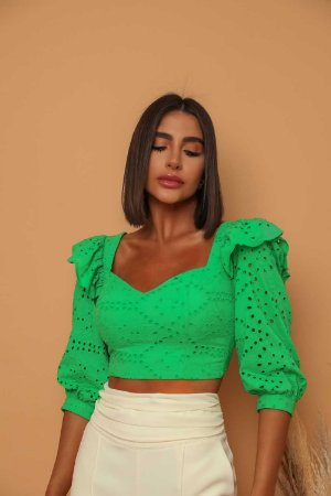 Cropped Laise Gio Verde