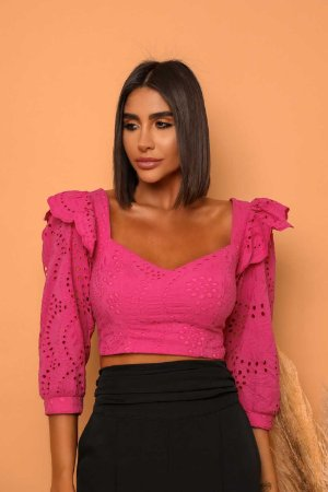 Cropped Laise Gio Pink