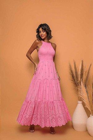 Vestido Longuete Mia Rosa