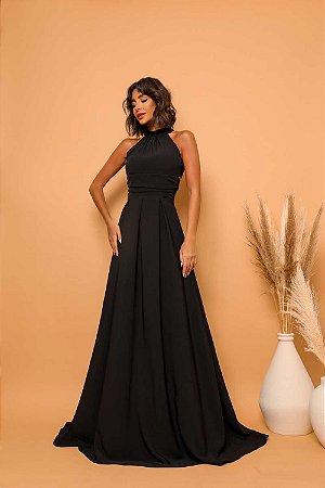 Vestido Longo Fer Preto