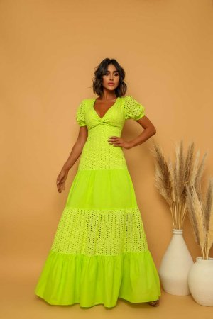 Vestido Longo Alma Lima