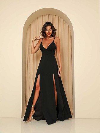 Vestido Longo Ibiza Preto