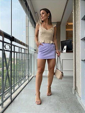 Shorts Saia Dre Lilas