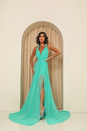 Vestido Longo Santorini Tiffany