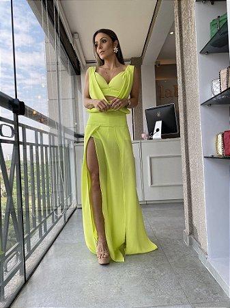 Vestido Longo Dubai Lima