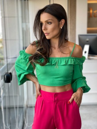 Cropped Lorena Verde