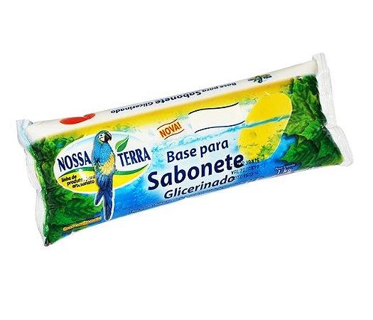 Base para sabonete gliceminado - branco 1kg