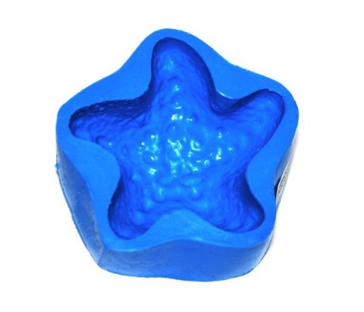 Forma de fazer sabonete e velas - Estrela do Mar 7,5x,5