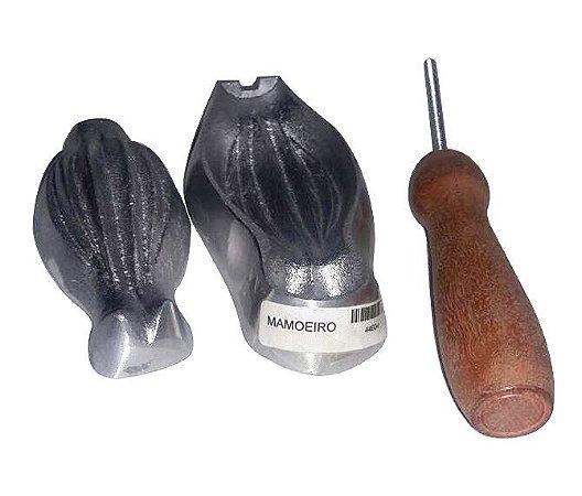 Frisador de alumínio - MAMOEIRO - diâmetro 4,5x11