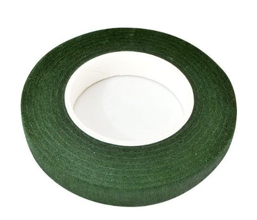 Fita Floral Verde Musgo