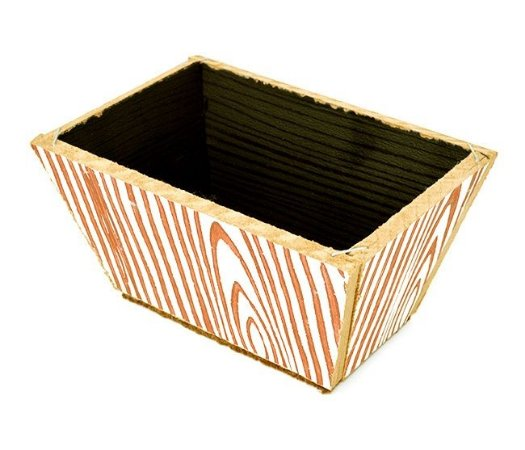 Vaso Jardineira 1 - MDF 7.5x14 - Cores Sortidas