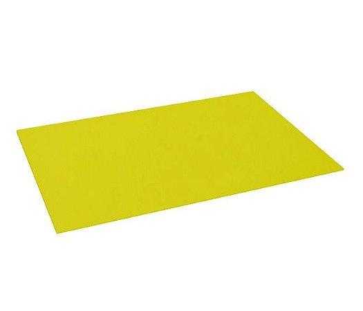 Pacote 10 un. E.V.A. Amarelo - Liso