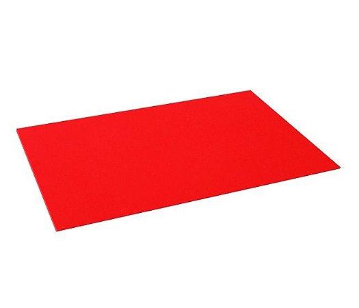 Pacote 10 un. E.V.A. Vermelho - Liso