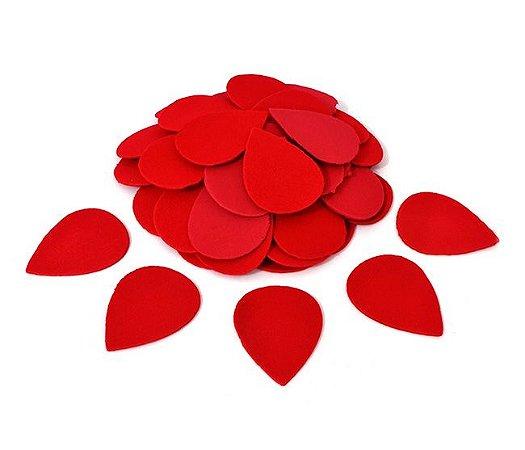Pétala e Botão da Rosa M - vermelha