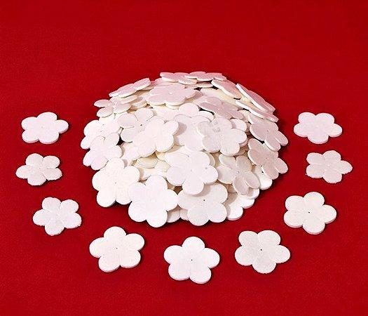 Flor do Campo / Pêssego - branca