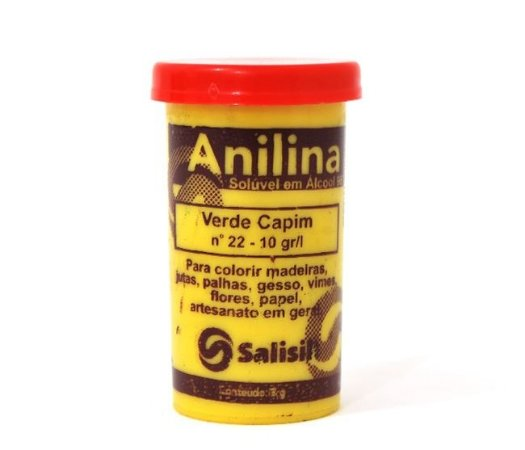 Anilina - Verde Capim nº 22 - 10 gr/l