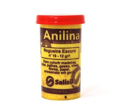 Anilina - Nogueira Escuro nº 19 - 12 gr/l