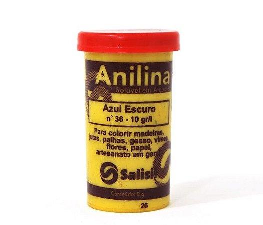 Anilina - Azul Escuro nº 36 - 10 gr/l