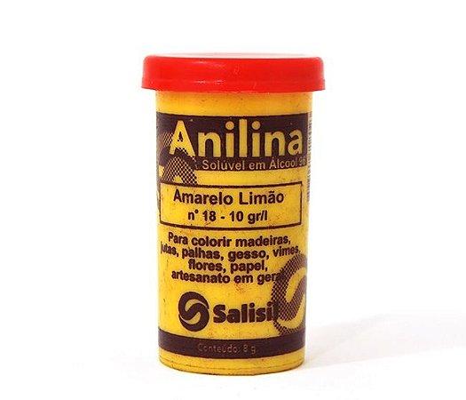Anilina - Amarelo Limão nº 18 - 10 gr/l