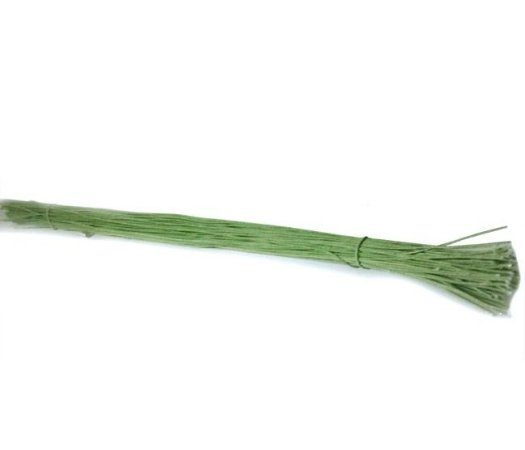 Pacote Arame Encapado nº23 / Verde Musgo 50cm